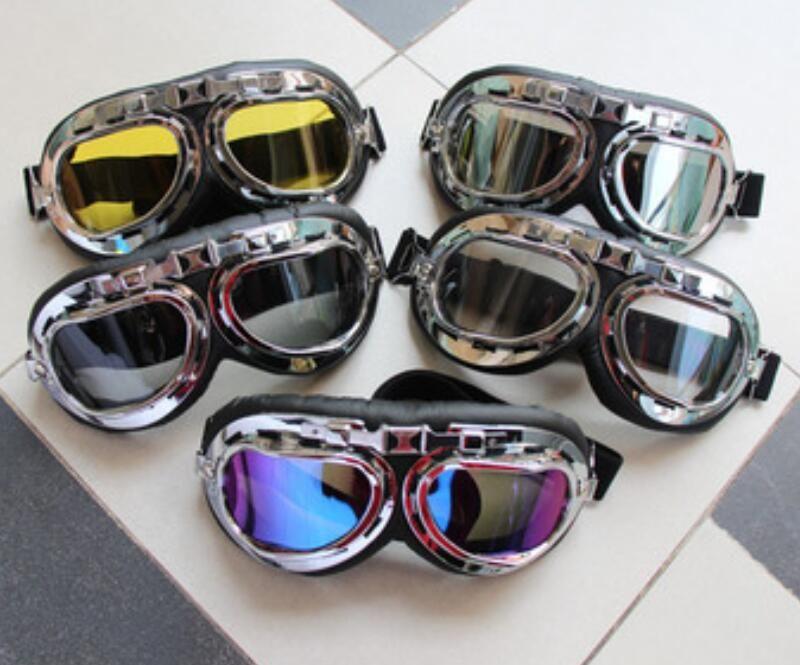 Los nuevos anteojos de la motocicleta todo terreno al aire libre gafas de montar a prueba de polvo fuera de la carretera equipo de montar