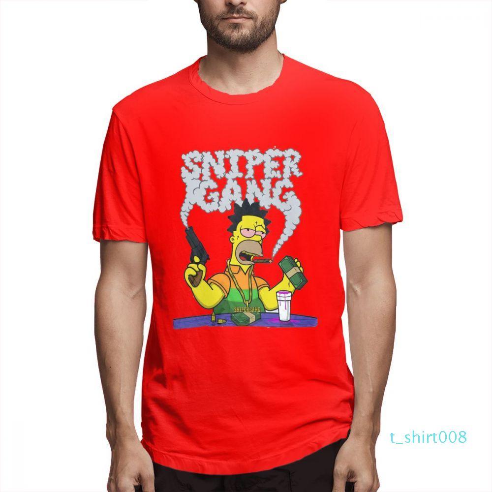 parejas camisa El diseñador Simpsons manera de las camisas camisas para mujer para hombre de manga corta de la camisa El c3901t08 Simpsons Impreso T Shirts Causal
