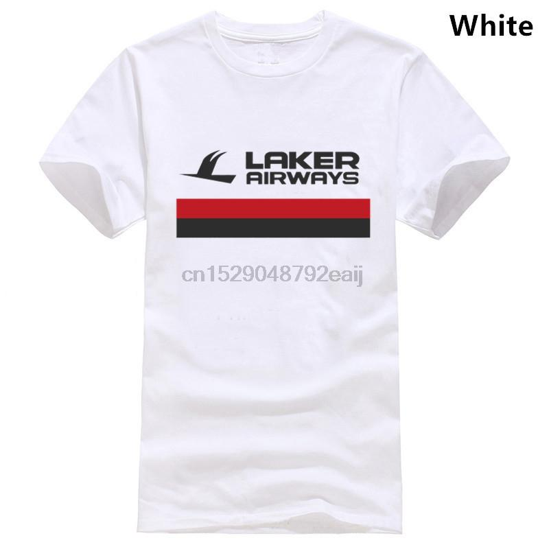 LAKER AIRWAYS INSPIRÉ GRAPHIC DESIGN haute qualité 100% coton COULEUR T-SHIRT