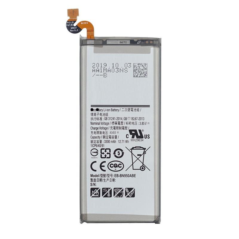 EB-BN950ABE Galaxy Note 8 N950 N950F N950U N950N 3300mAh batería del teléfono móvil de la batería de repuesto originales