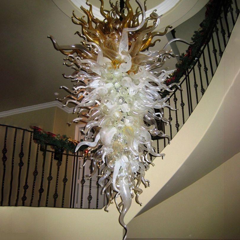 Éclairage Grand 72 pouces modernes Led Lustres Lumières LED Lampes Lampes suspendues Lampe Luminaires pour Foyer