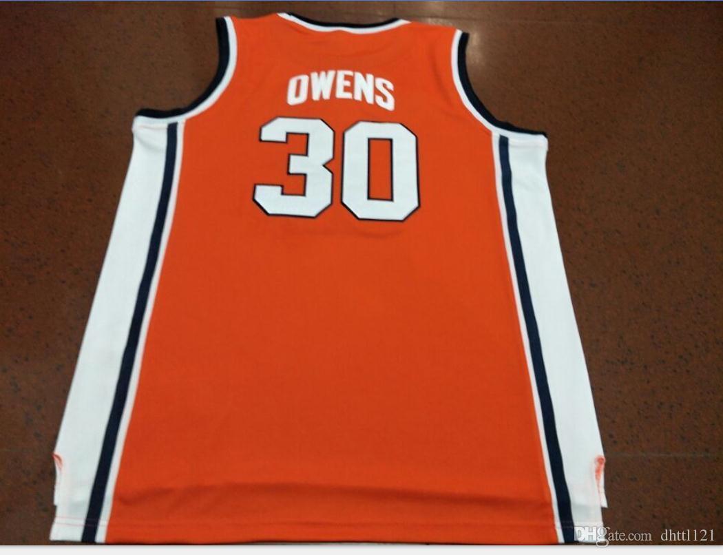 Donna-Uomo della gioventù Vintage # 30 Billy Owens Washingtonn Siracusa 1991 Jersey di pallacanestro di formato S-5XL o personalizzato qualsiasi nome o numero di maglia