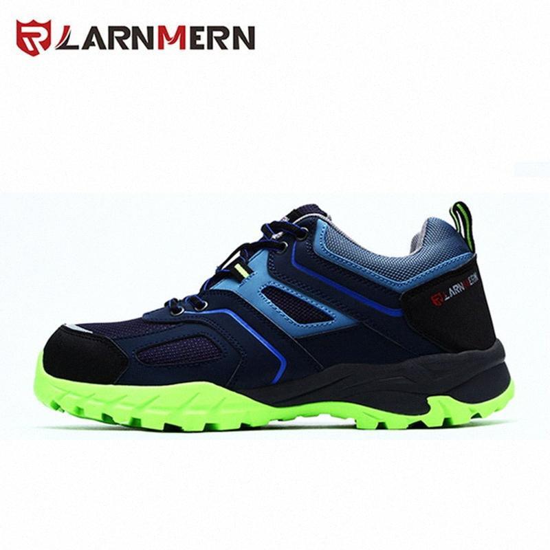 Toe LARNMERN Marca Mens aço de trabalho Segurança Shoes Anti Smashing outoor respirável Anti Puncture Não Deslizamento de protecção 66lG #