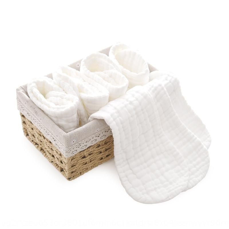 Newborn supplies newborn baby pure cotton gauze breathable diaper diaper 10 pieces pack with Strap 2