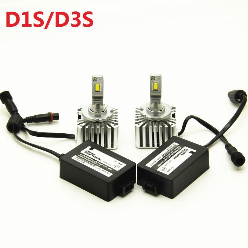 coche OEM D1S D3S llevó la linterna 55W Plug and Play D2S D4S canbus auto llevó la linterna