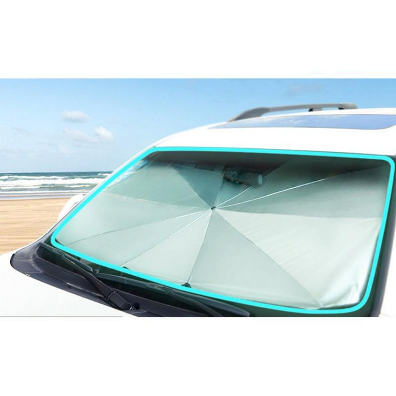 Car parasol Car Windshield Cover UV Protection Sun Shade Front Window Interior Protection Folding umbrella Automotive interior