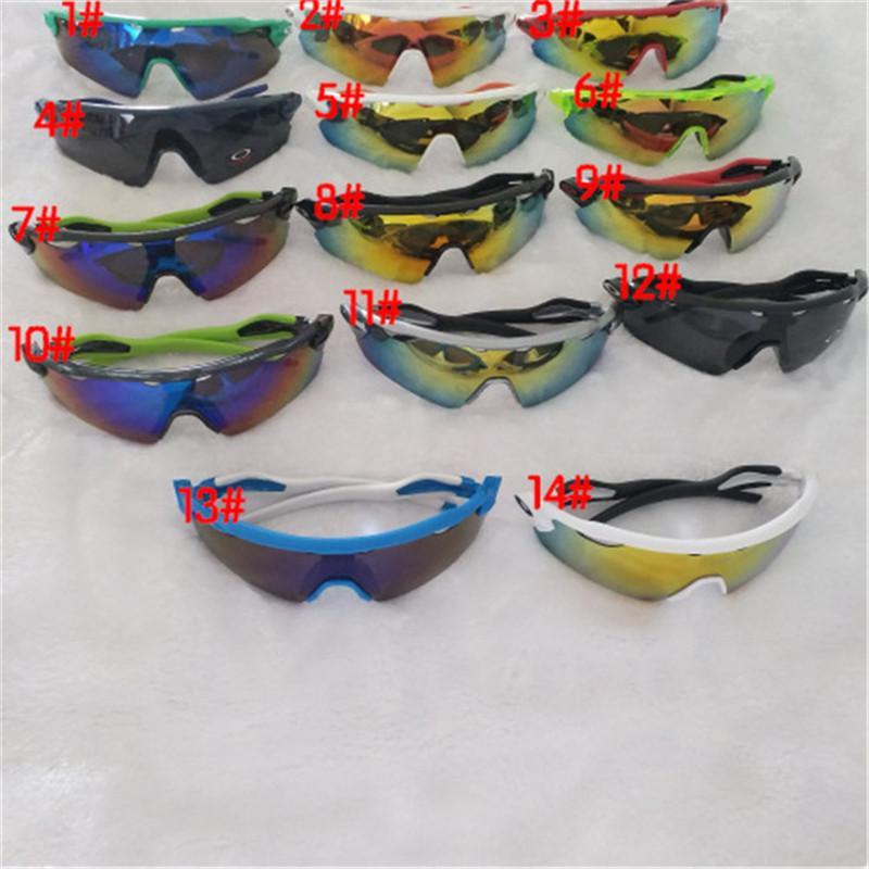 Yeni yaz erkek spor Bisiklet gözlüğü gözlük kadın Bisiklet gözlük camları Spor açık Gözlükler renkleri Güneş Gözlükleri 15 Renk