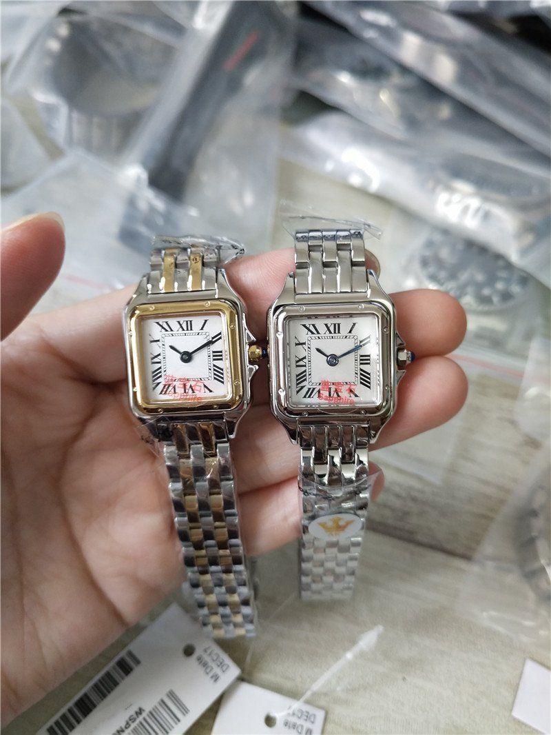Женские часы из нержавеющей стали корпус белый циферблат часы кварцевые часы из нержавеющей стали браслет 079