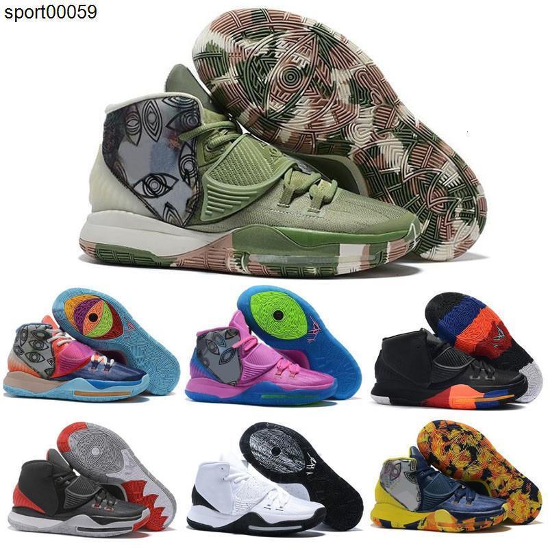 2020 Новый Кирие 6 Трофеи для продажи Дети Golden Мумия Токио Khepri Йорк Майами мужчин женщин Дети Баскетбол обувь