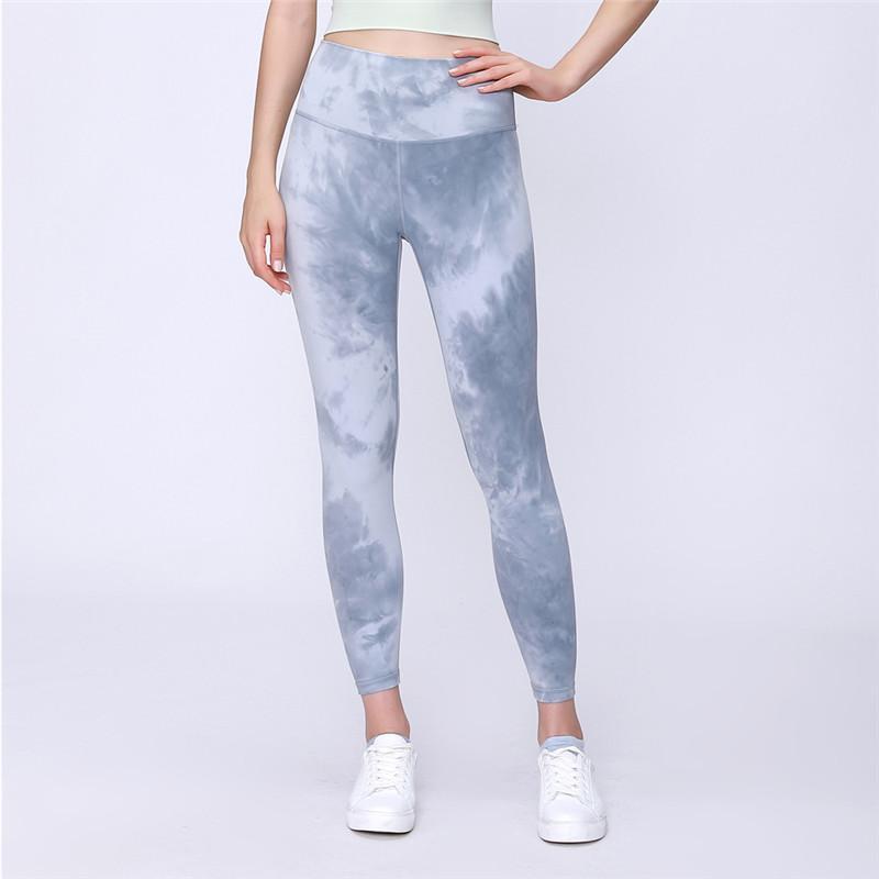 Tie Dye Buttery-soft Sport Yoga fitness Leggings donne nude-feel Quattro modi di allenamento elastico Esecuzione Palestra calzamaglia pantalones