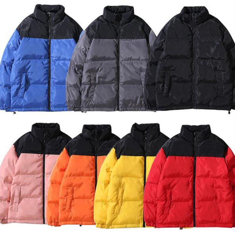 Теплые куртки мужские ветровки куртки Мужчины Женщины High Street Качество Мужчины Теплые куртки Верхняя одежда Толщина Winter Man пальто