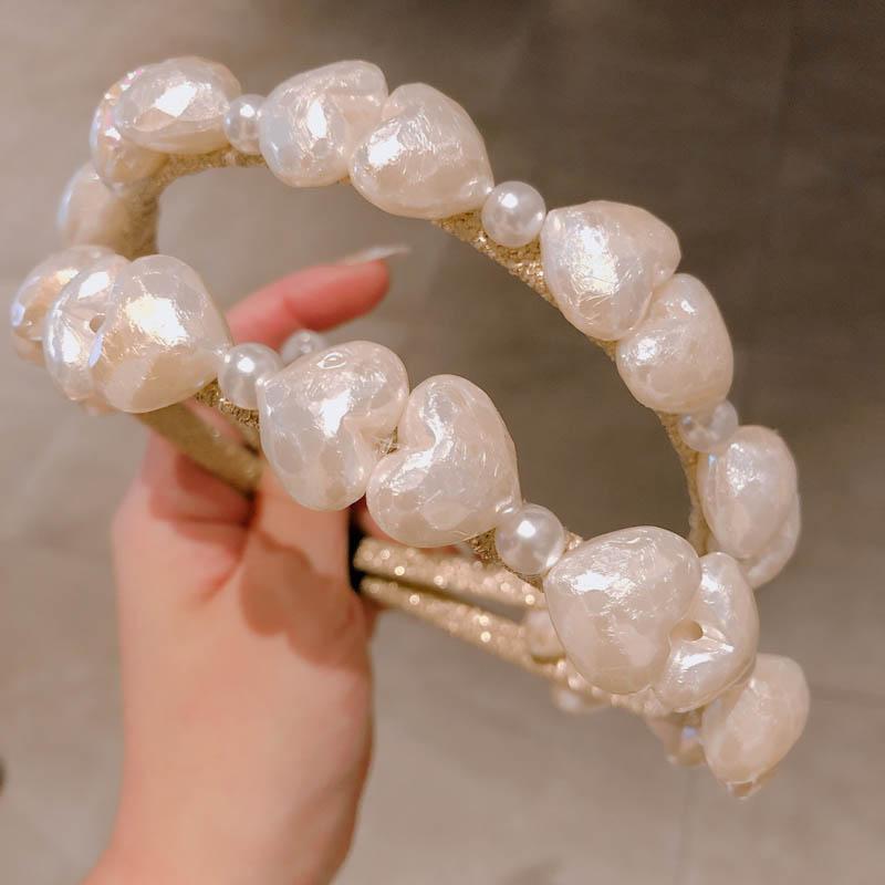 INS Boutique cristallo fasce delle ragazze delle donne bastoni capelli perla di design accessori per capelli ragazze di fiore di modo fascia chiare per le donne