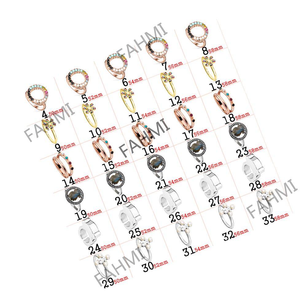 925 Sterling Silber Mode Ring Überzogen 18 Karat Rose Gold Ring Weibliche Paar Original Schmuck Für Frauen Geschenk