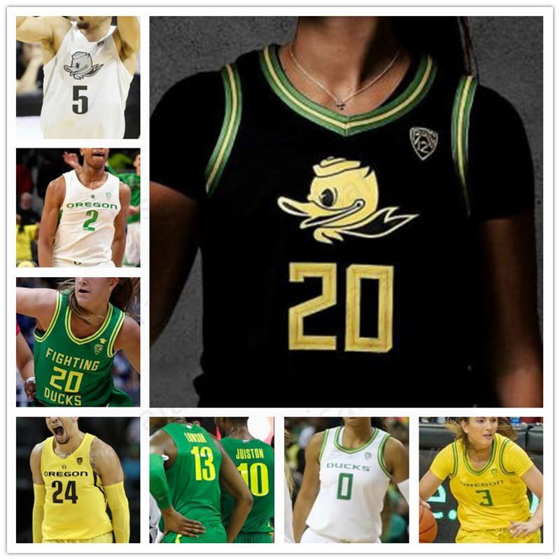 NCAA Oregon Ducks Basketball Джерси Сабрина Ионеску Тейлор Чавес Minyon Мур Erin Боули Jaz Shelley Morgan Yaeger Лидия Giomi