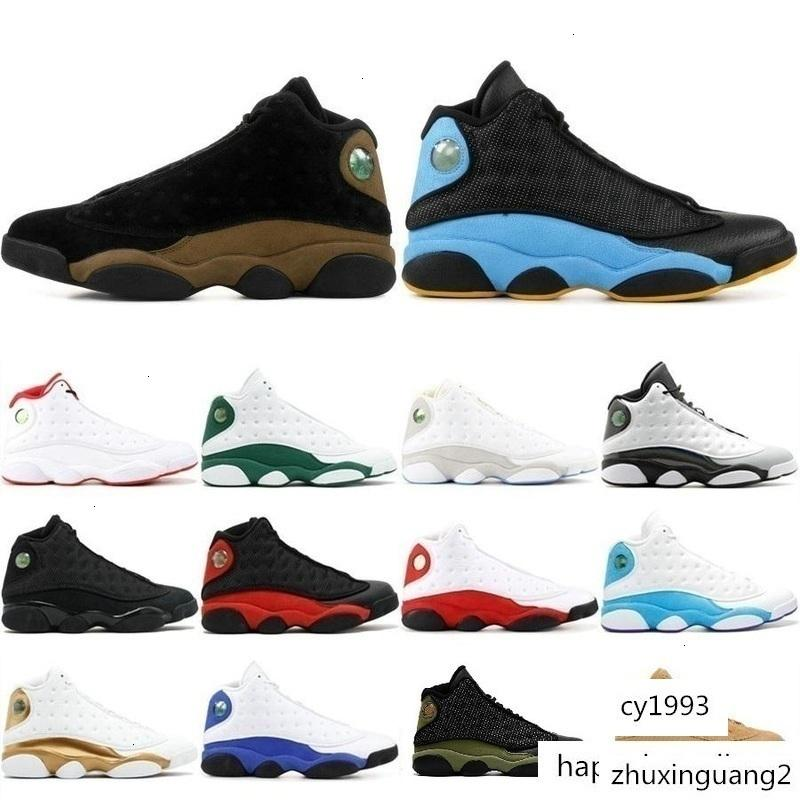 With box High Quality 13 13s Men Women Basketball Shoes Cap And Gown Chicago Black Flints Bred Brown White DMP j13 retro Sneakers