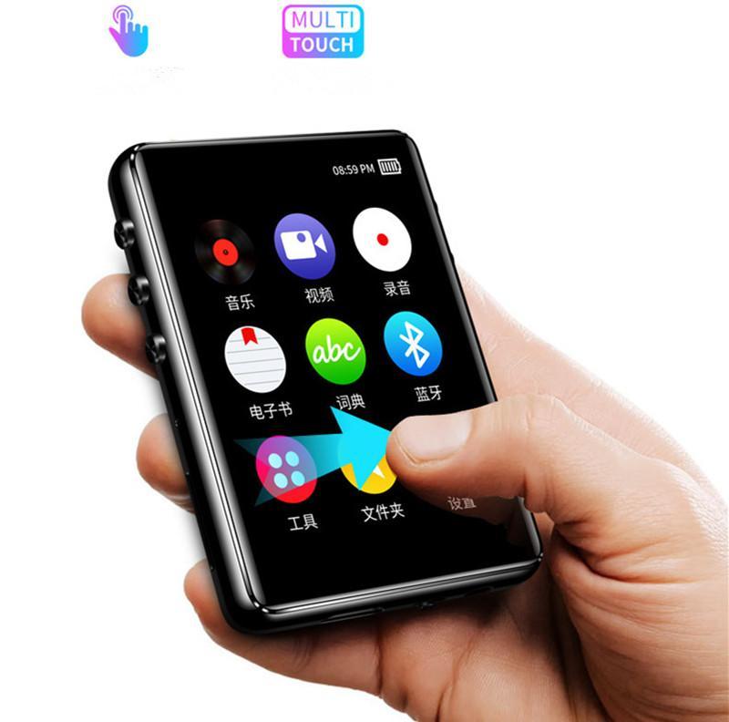 شاشة تعمل باللمس بلوتوث كامل MP3 Walkman MP4 مشغل موسيقى نسخة طالب ضياع مركبتي الخارجية MP5 شحن مجاني