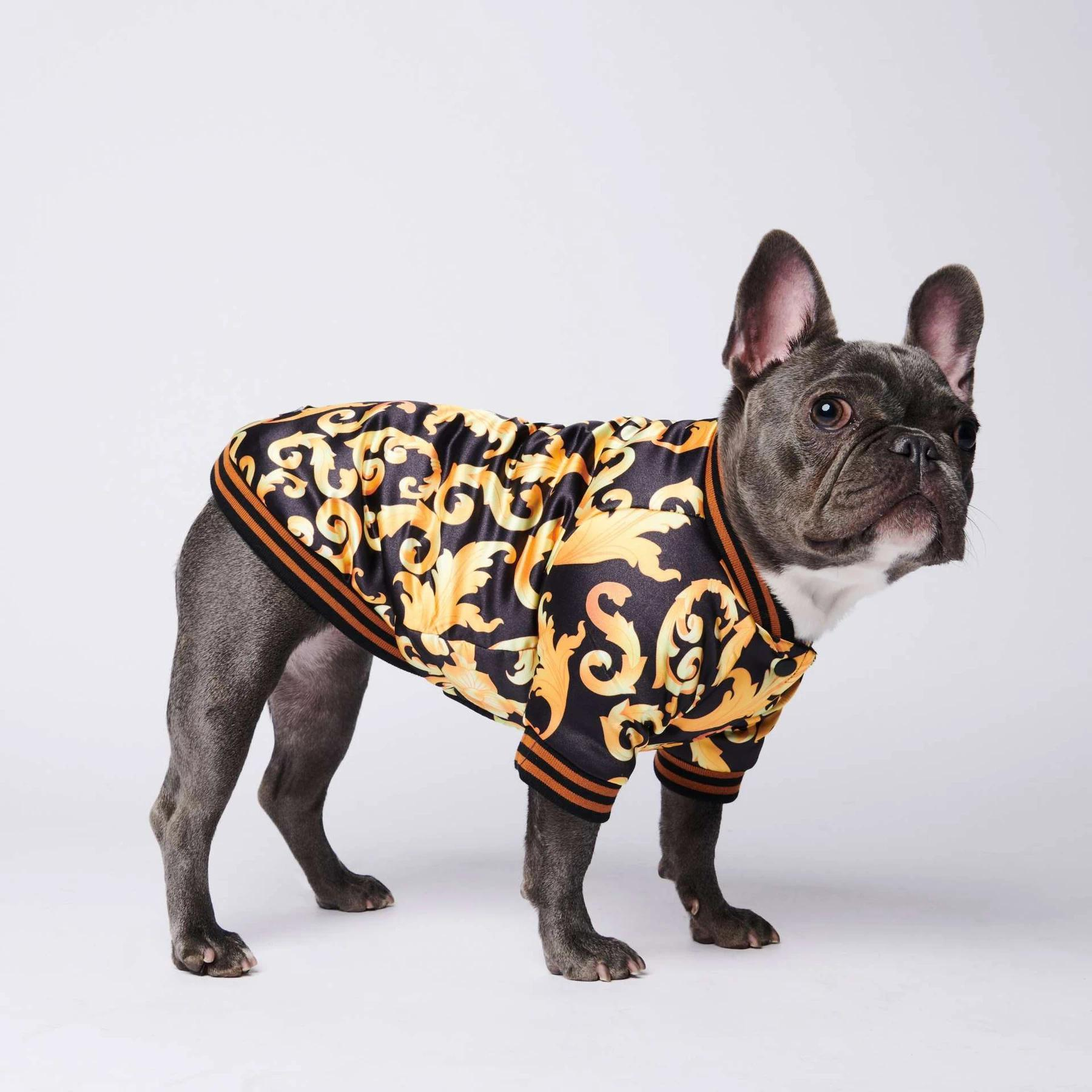 2020 French Bulldog Clothes Dog Jacket Warm Sport Retro Dog Coat Pet Clothes Puppy Dog Pugs Puppy Clothes From Yiyu Hg 19 93 Dhgate Com