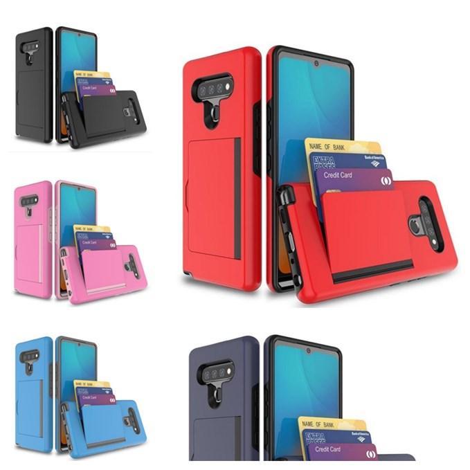Для LG K51 Stylo 6 Aristo 5 Plus Доспех Гибридный чехол ТПУ PC Phone крышка с розничной коробкой