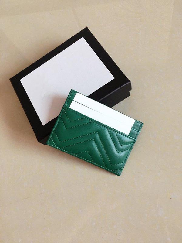 Qualità Donne Ultra Casual Header Credit Slim Packet Pelle Classic Uomo Biglietto da portafoglio Uomo per Borsa Cowhide W10 * H7 Ahlxu