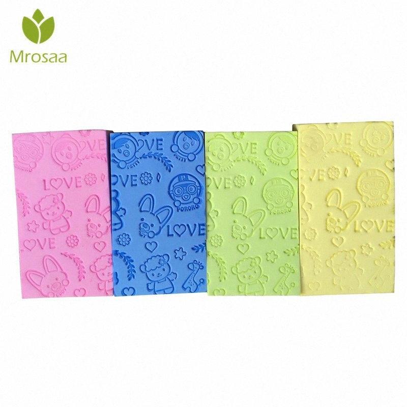 Cartoon Baby Kid Adult Bath Sponge Foam Floating Cleaning Body Soft Scrubing Sponge Bath Exfoliating Wash Skin SPA Shower fWXt#