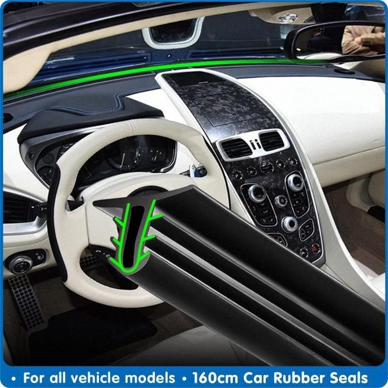 لوحة الزجاج الأمامي 160CM السيارات العالمي تسرب لوحة عازلة للصوت المطاط ختم قطاع السيارات الأختام المطاطية السيارات ختم اكسسوارات oy50 #