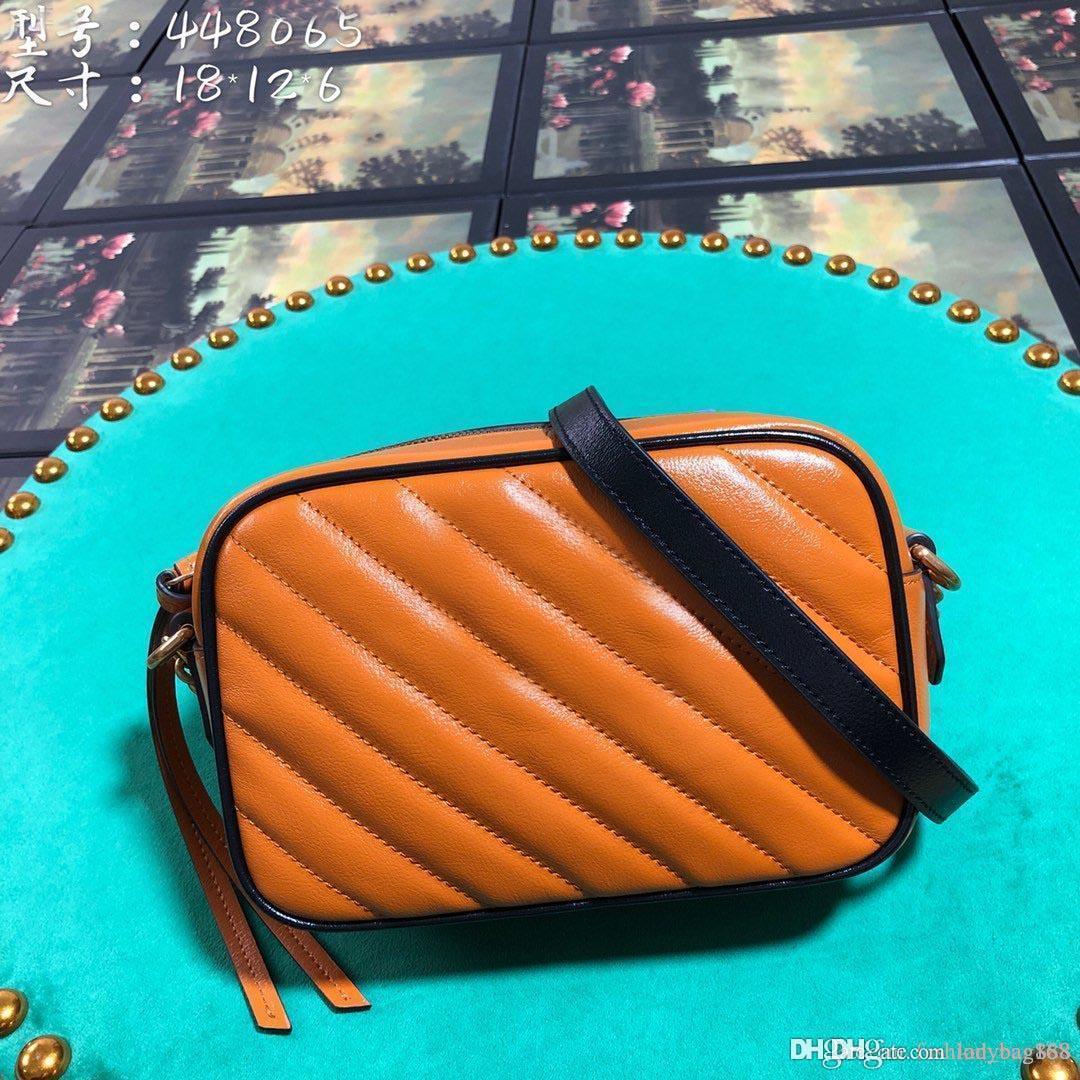 Yeni Moda Lüks Tasarımcı Kadın Çanta Çapraz vücut Çanta Omuz Gerçek Deri Yüksek Kaliteli Bez Çanta çanta Orijinal sığır derisi 18cm