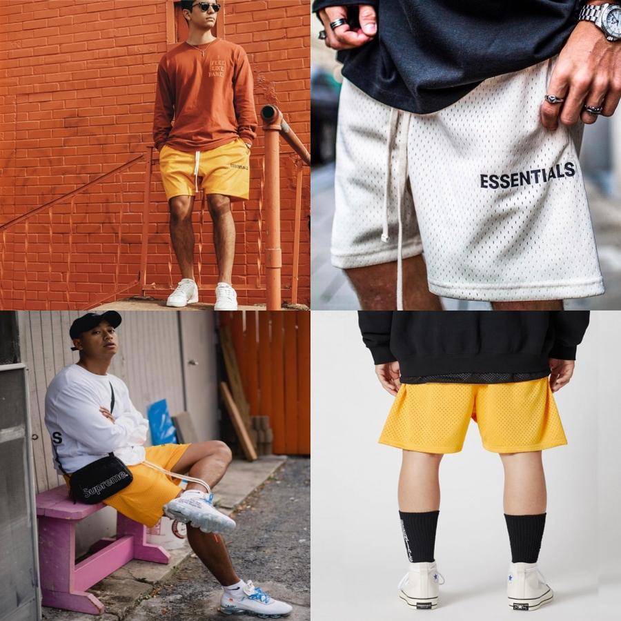 Meilleur taille élastique Shorts Noir Casual High Street Plage cordonnet Pantalons Outdoor Pantalons courts Sport Fitness Shorts respirante HFYMKZ210 # 526