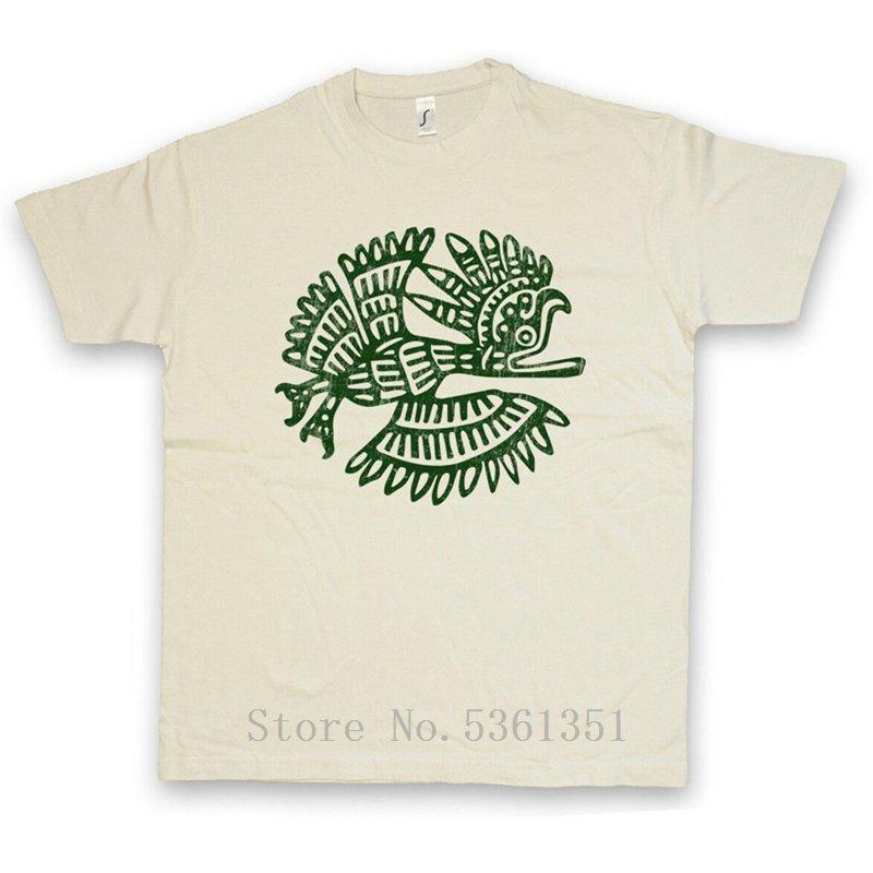 Pájaro azteca I CAMISETA indios indígenas firman civilización cultura mayas Religión impreso camiseta homme camiseta fresca de verano para los hombres