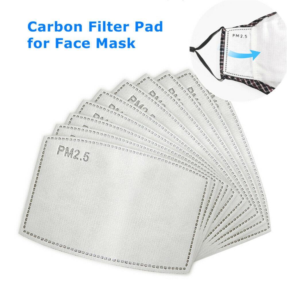 تنفس PM2.5 فلتر الكربون لوحة إدراجها في FR الأطفال الكبار قناع الوجه ذابت طبقة