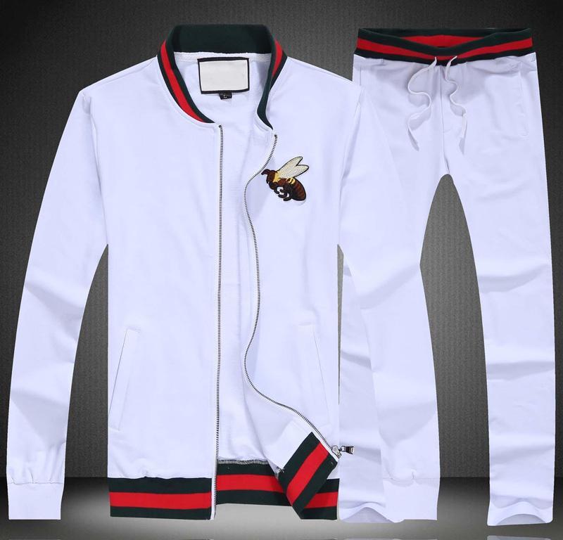 Mens Luxury Tracksuit Sportwear весна осень с длинными рукавами повседневные куртки с Повседневный Jogger Брюки Homme Пот Костюмы