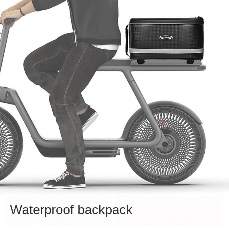 Anmei Straßen hinteren Fahrradgepäckkoffersitz wasserdichte elektrische Fahrrad hinteren Rahmenberg trunk bag Camelbag Antriebs