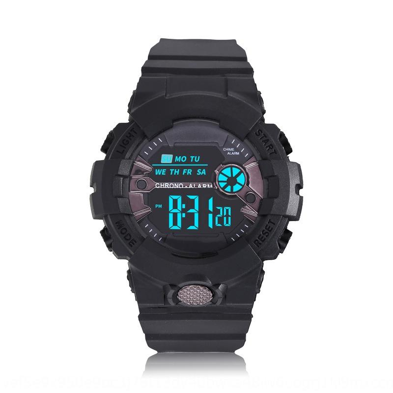 QgHo2 New Korean style sports Children multi-functional student leisure watch Luminous watchElectronic watchwaterproof luminous alarm clock
