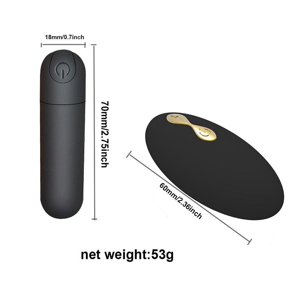 Süper Frekans Külot Titreşimli Güçlü Klitoris Iç Çamaşırı Askı G-Spot Bullet Vibratörler Kadın Stimülatörü Mini Kadın Y200616 RFRWO