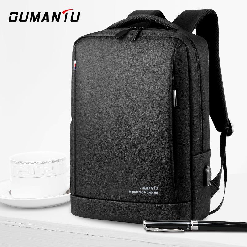 Erkekler ve kadınlar sırt çantası iş yüksek kapasiteli bilgisayar çantası su geçirmez sırt çantası