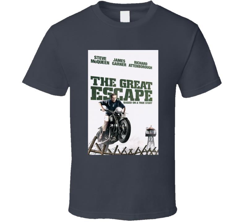 Les hommes tshirt The Great Escape (1963) IMDB Top 250 T-shirt tshirt femmes t-shirt