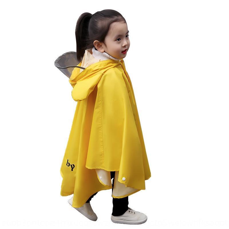 çift amaçlı erkek ve bayan öğrencilerin sürme Çocuk Cloak pelerin sevimli Cape yağmurluk su geçirmez panço bebek anaokulu kalınlaşmış