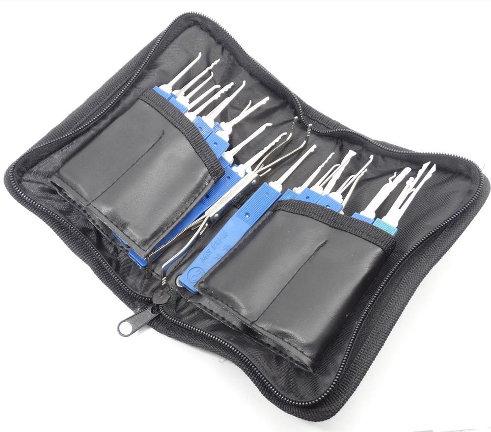 KLOM 29 Pin Bloqueio Escolha Ferramentas Casa Bloqueio Escolha Sets porta do carro serralheiro ferramenta pode usar em carro e casa de porta