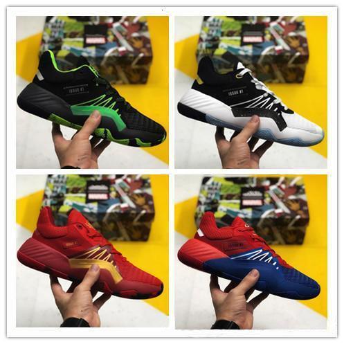2019 nueva llegada para hombre D.o.n. Número 1 Zapatos de baloncesto Gca Donovan Mitchell 1s Zapatos araña Deporte Formadores Hombres Deportes 40-46