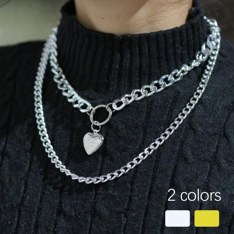 Воротник Layered Choker ожерелье Pearl Choker ожерелье Регулируемая Панк ожерелья Установить Подвеска женщин ювелирные изделия # 0303y30 ym3S #