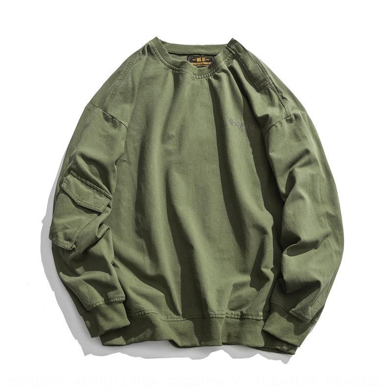 Liangye LUOYE 2019 осени мужской мода pulloverOveralls пуловеров бренд сплошного цвета Комбинезон пуловеры свободного пальто M276