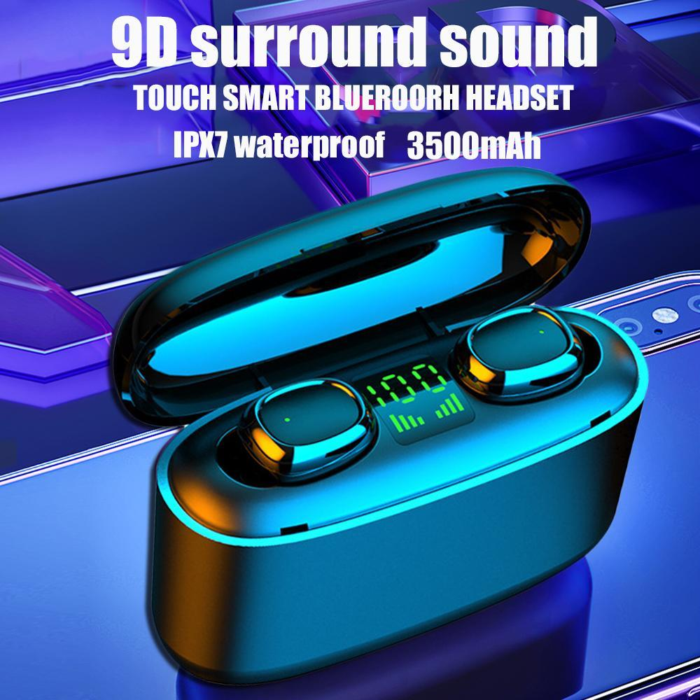 G5S TWS Mini Bluetooth Наушники для наушников Bluetooth Бизнес-наушники Водонепроницаемый IPX7 Спортивные наушники для Xiaomi Huawei iPhone Беспроводные наушники