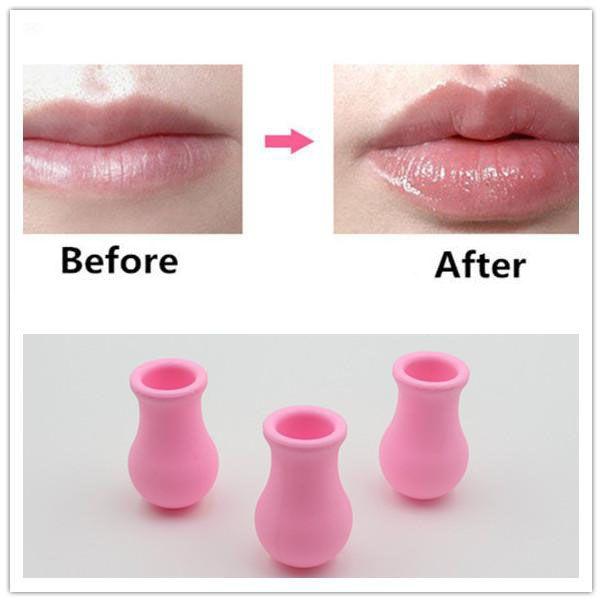 Femmes silicone sexy pleine lèvres pulpeuses activateur lèvres repulpant lèvres rondes Augmenter l'appareil Lip Plump Pompes Maquillage Beauté 33g