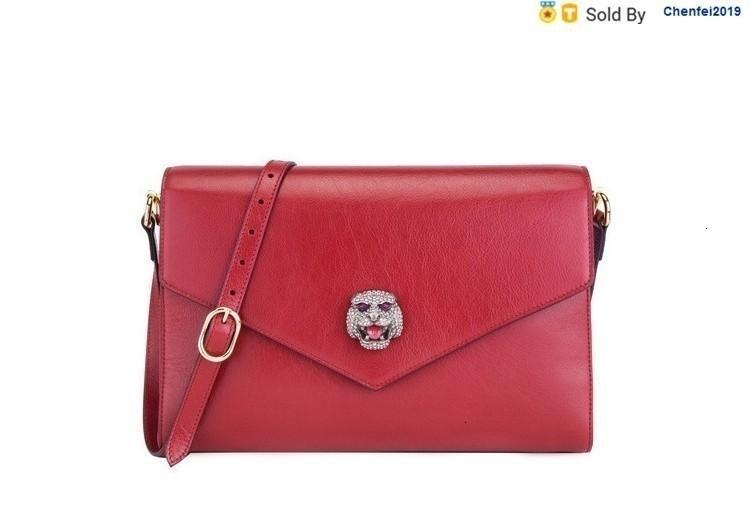 chenfei2019 9AJI Red Thiara Emerald Leather Shoulder Messenger Bag 5278570pllx8231 Totes Handbags Shoulder Bags Backpacks Wallets Purse
