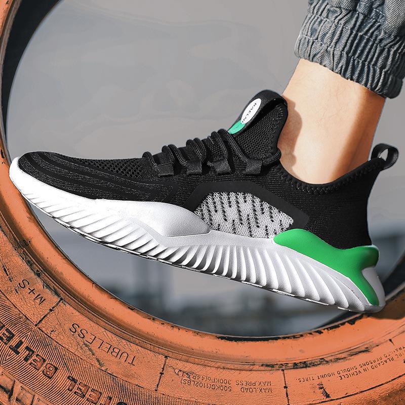 [Serie scarpe volanti sportivi] 2020 scarpe da cocco estate maglia scarpe casual traspirante scarpa da running per uomo alla moda