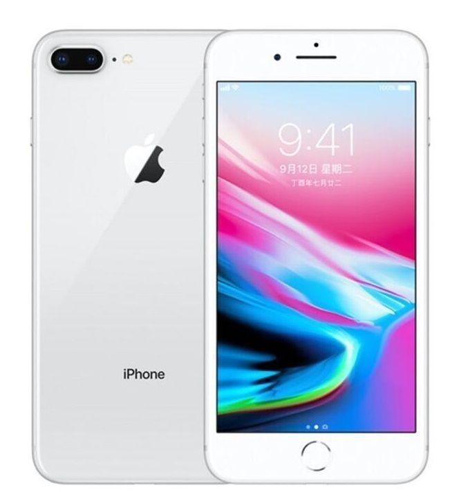 원래 100 % 아이폰 8 8 플러스 지문 64GB / 256GB 12.0MP iOS 13 4.7 / 5.5 인치 사용 잠금 해제 전화