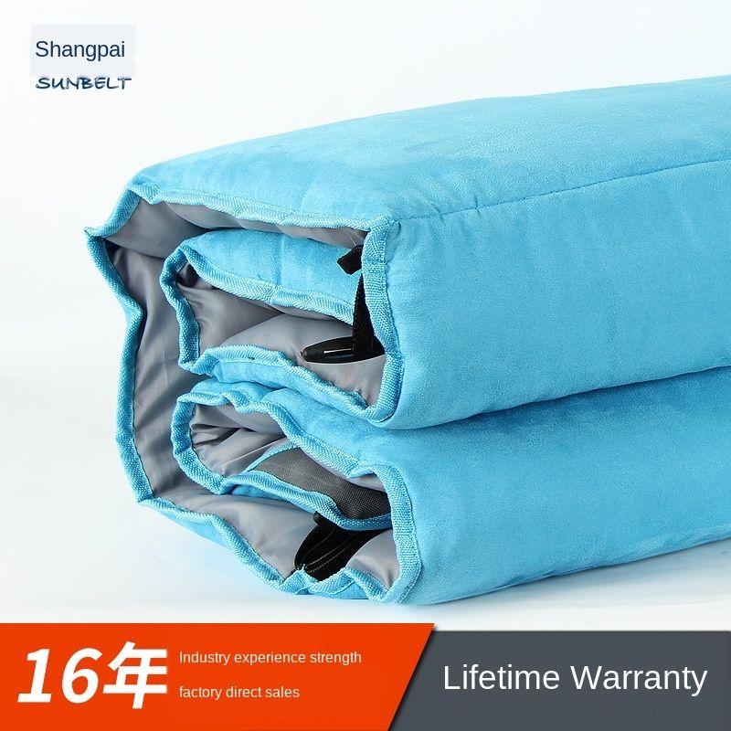 Özelleştirilmiş katlanabilir öğle Sıcak Yastık molası şilte süet yastık ipek pamuk sıcak kısa kadife yatak kalınlaşmış