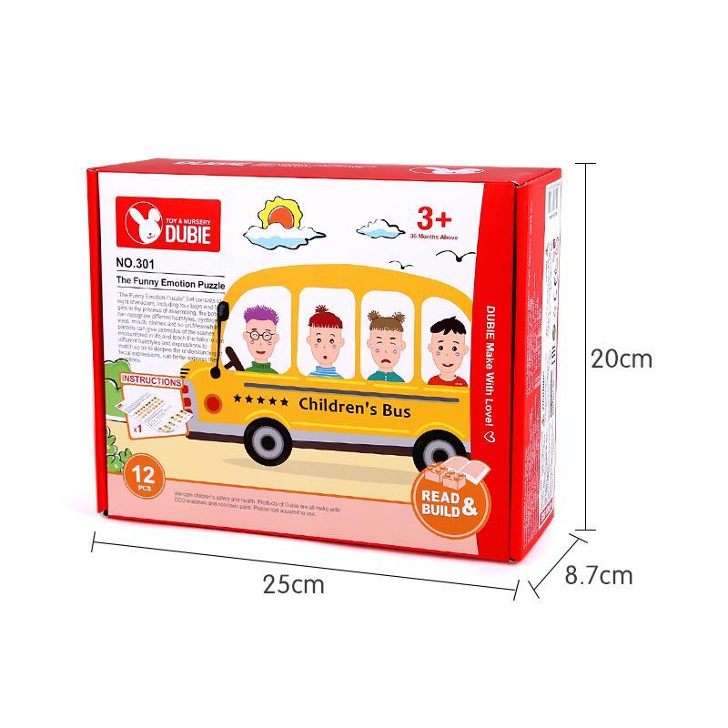 12pcs interseting bébé jouet éducatif intelligence puzzle caractère précoce visage cognition jouets éducatifs grandes briques de particules pour le cadeau enfant