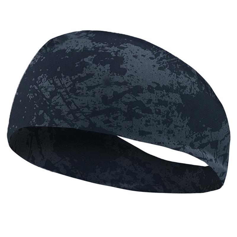 Der Sport Absorbent Sport Schweiß Stirnband-elastische Schweißband für Männer und Frauen Yoga-Haar-Bänder Kopf Schweißbänder