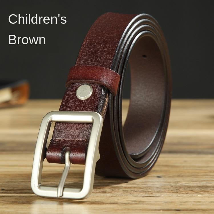 Performance usure mise en forme Mode pour enfants série de ceinture de vêtements pour enfants tout match féminin de ceinture en cuir de boutique