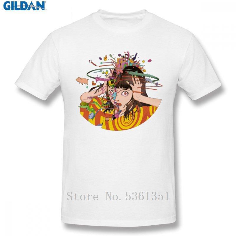 Kago Shintaro-T-Shirt für Mann Einzigartigen Cotton Tee Design Großer Größen-T-Shirt lustigen Druck Männer kurz T-Shirt Männer Baumwolle T-Shirt